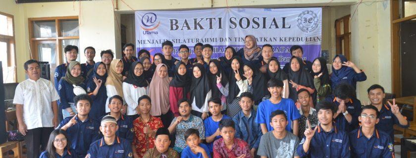 HMTI melaksanakan kegiatan bakti sosial di Panti Sosial Asuhan Anak Tunas Harapan